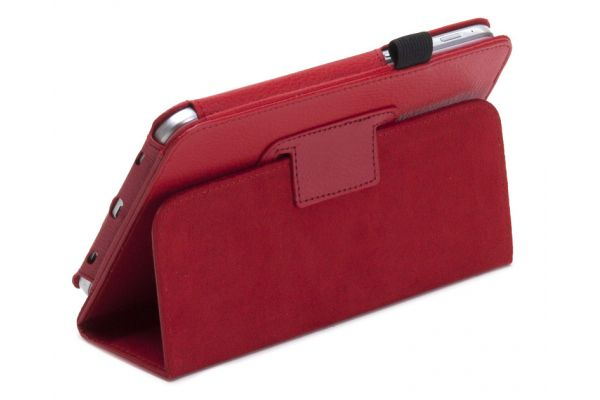 Tablet Samsung Tab3 SM-T210 7.0 inch Book Cover Rood
