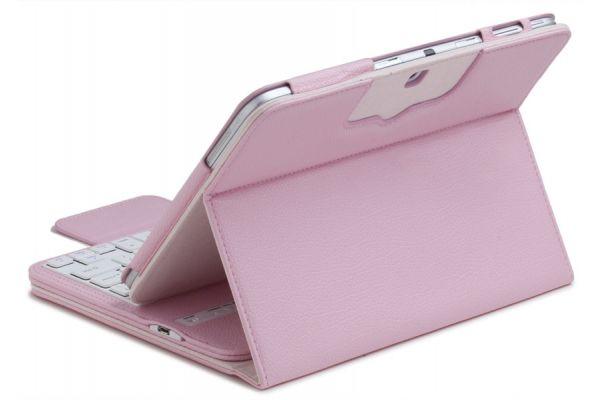 iPad Pro 12.9 (2017) hoes met draadloos toetsenbord Roze