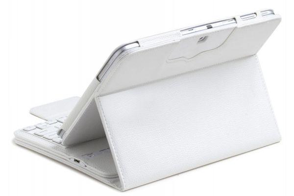 iPad Pro 12.9 hoes met draadloos toetsenbord Wit