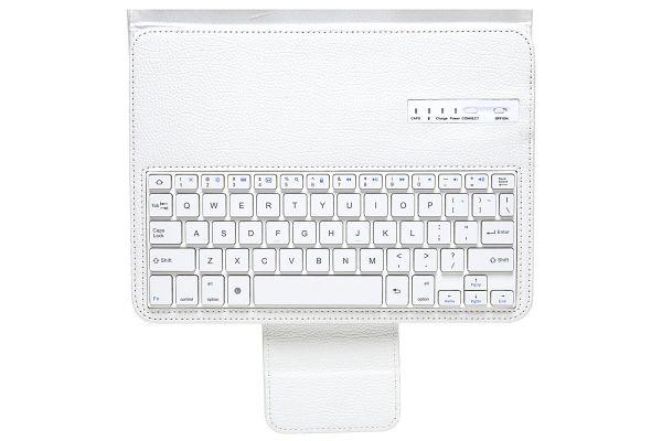 Samsung TabPRO T520N/525N 10.1 Luxe hoes uitneembaar Toetsenbord Wit