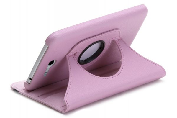 Samsung Tab3 LITE 7.0 SM-T110-T113-T116 Draaibare Hoes Roze