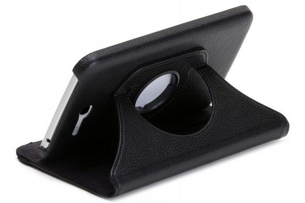 Samsung Tab3 LITE 7.0 SM-T110-T113-T116 Draaibare Hoes Zwart