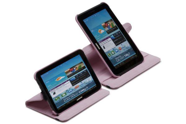 Tablet Samsung Note (8.0) N5100-N5110 Draaibare Hoes Roze