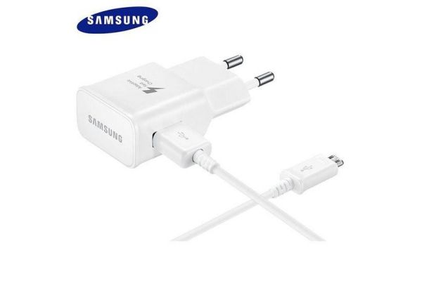 Samsung Fast Charger inclusief Samsung micro USB kabel 1.2 meter