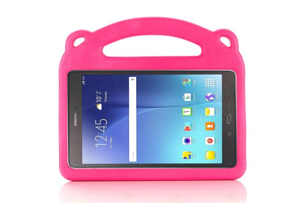Samsung Galaxy Tab A 8.0 model 2019 Kinderhoes Beertje Roze