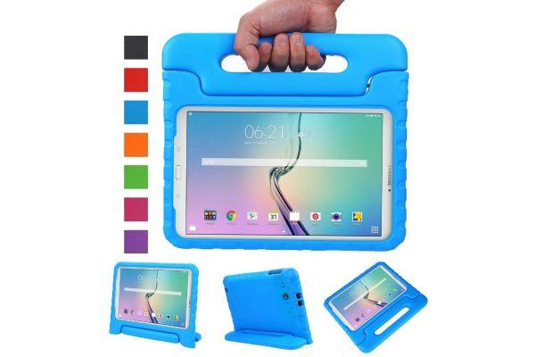 Samsung Galaxy Tab E 9.6 Kinderhoes Blauw