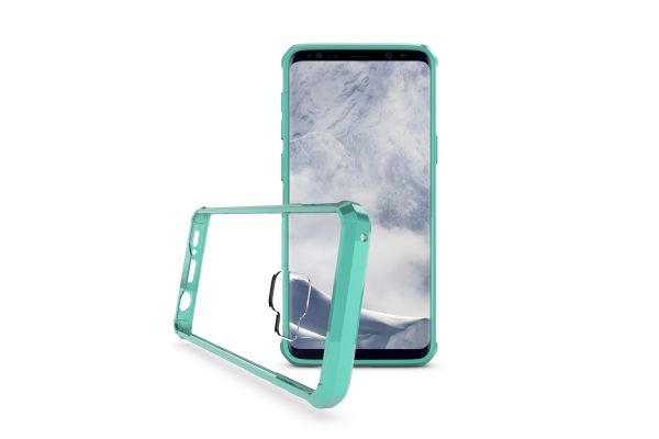 Samsung Galaxy S9 Back Cover mintgroen Air Hybrid