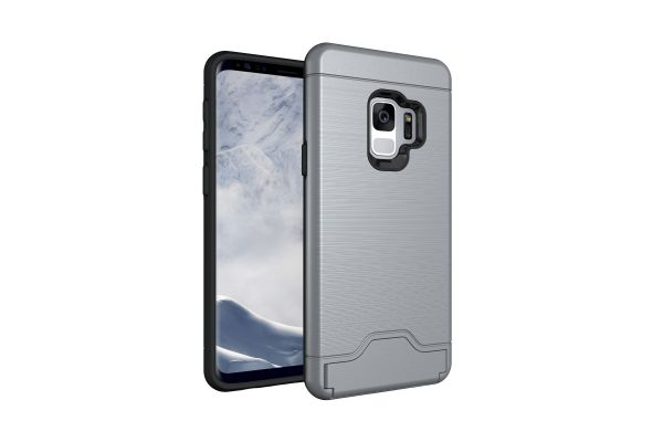 Samsung Galaxy S9 Back Cover Case grijs