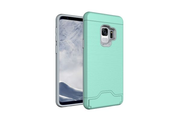 Samsung Galaxy S9 Back Cover Case mintgroen
