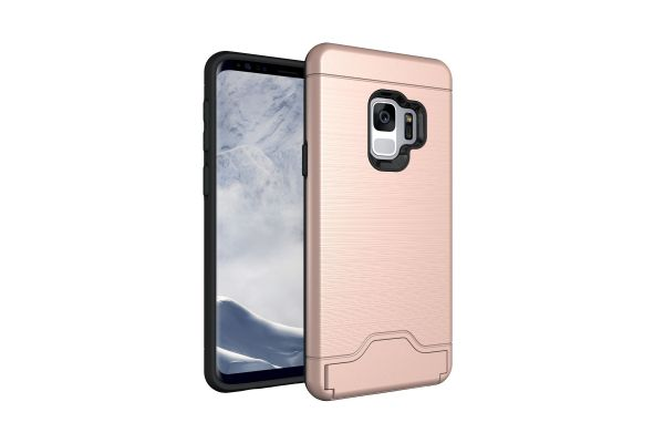 Samsung Galaxy S9 Back Cover Case Rose goud