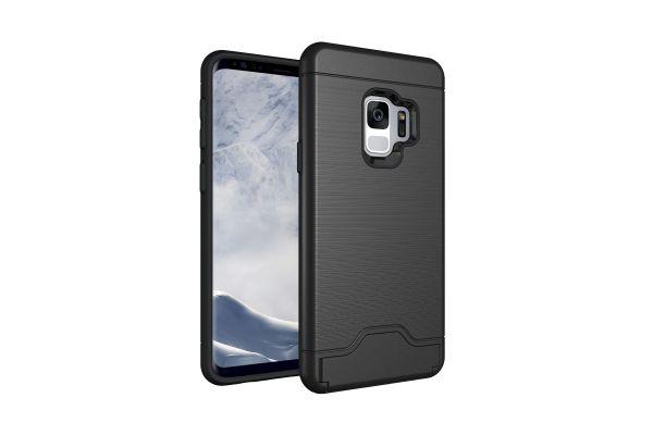 Samsung Galaxy S9 Back Cover Case Zwart