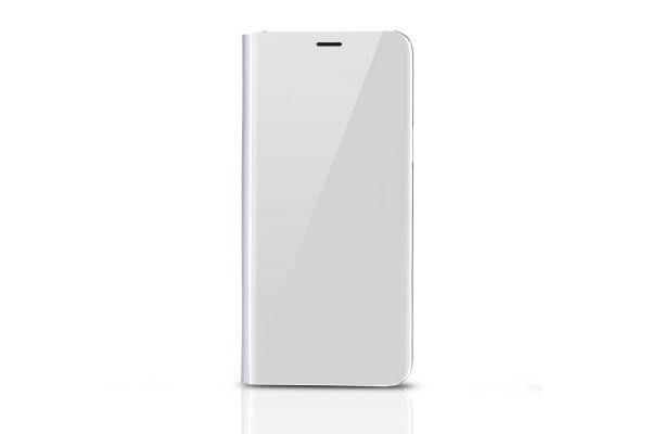 Samsung Galaxy S9 Clear View mirror case Zilver
