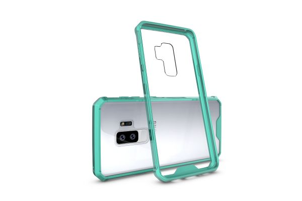 Samsung Galaxy S9 Plus Back cover Transparant Air Hybrid Mintgroen