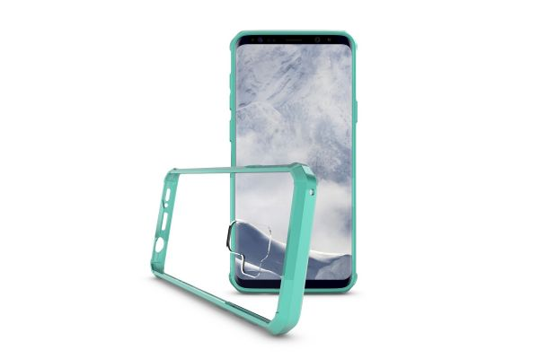 Samsung Galaxy S9 plus Back Cover mintgroen Air Hybrid