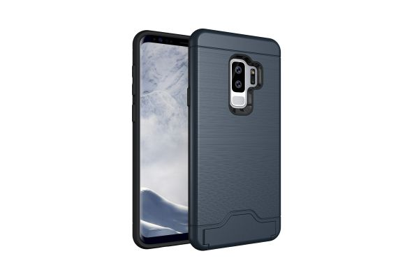 Samsung Galaxy S9 Plus Back Cover Case blauw