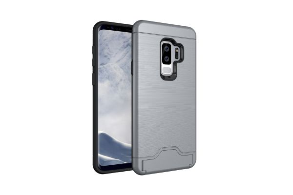 Samsung Galaxy S9 Plus Back Cover Case grijs