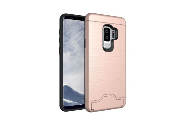 Samsung Galaxy S9 Plus Back Cover Case rose goud