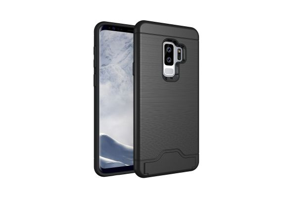 Samsung Galaxy S9 Plus Back Cover Case zwart