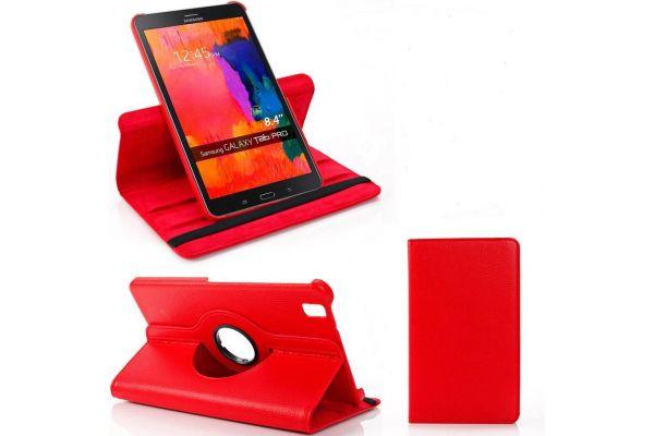 Tablet Samsung Tab PRO 8.4 T320-T325 Draaibare Hoes Rood