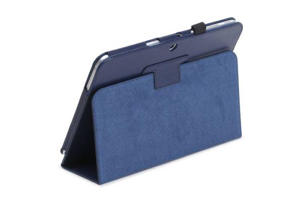 Samsung Galaxy Tab 2 10.1 INCH PU leren hoes book cover blauw
