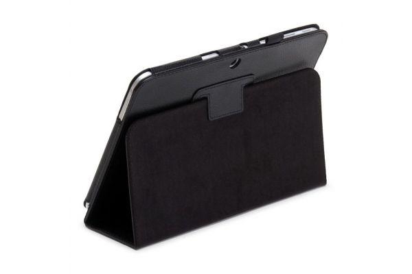 Samsung Galaxy Tab 2 10.1 INCH PU leren hoes book cover zwart