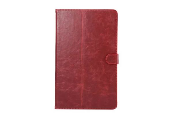 Samsung Tab A 10.1 INCH Book Cover Deluxe rood