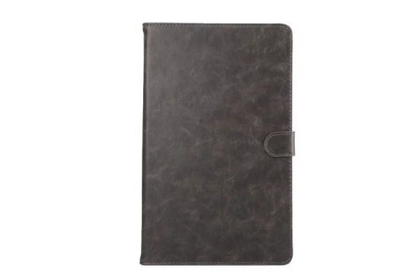 Samsung Tab A 10.1 INCH Book Cover Deluxe grijs