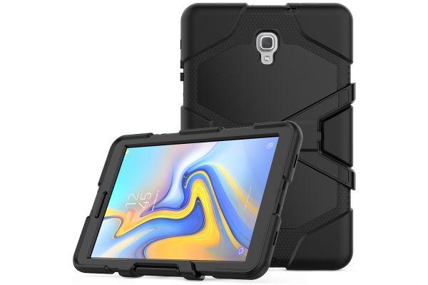 Samsung Tab A 10.5 heavy duty survivor case zwart T590 - T595