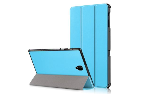 Samsung Tab A 10.5 inch heavy hard back book cover blauw