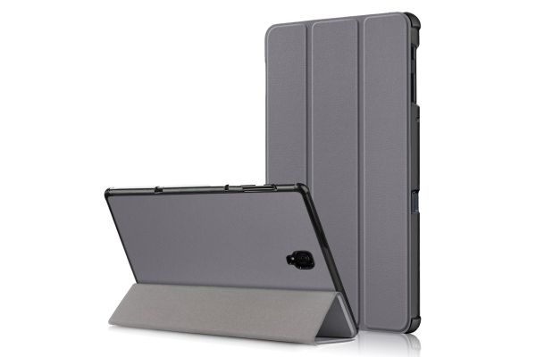 Samsung Tab A 10.5 inch heavy hard back book cover grijs