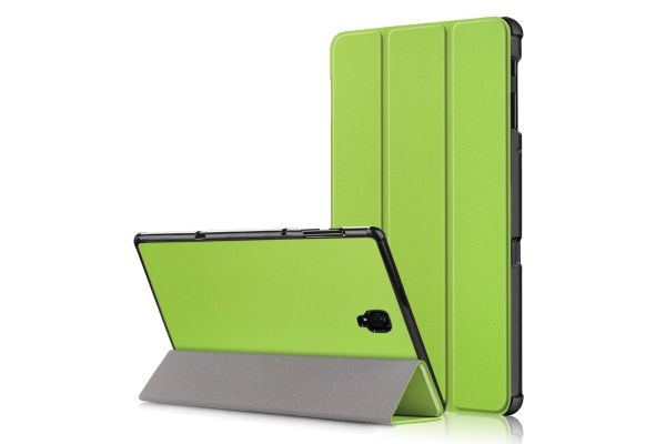 Samsung Tab A 10.5 inch heavy hard back book cover groen
