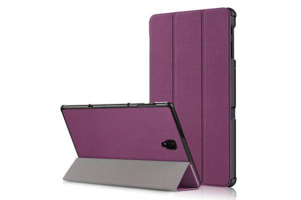 Samsung Tab A 10.5 inch hard Tri-Fold book cover Paars