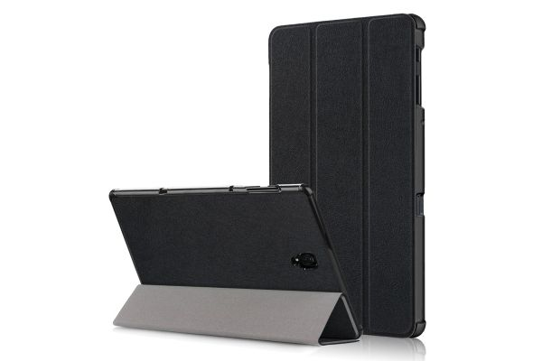 Samsung Tab A 10.5 inch heavy hard back book cover zwart