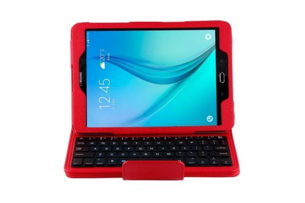 Samsung Tab S2 9.7 hoes met toetsenbord rood T810 T813 T815 T819