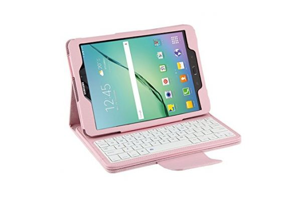Samsung Tab S2 9.7 hoes met toetsenbord roze T810 T813 T815 T819