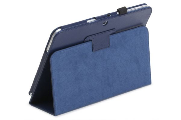 Tablet Samsung Tab E 9.6 INCH T560 PU Leer Book Cover blauw