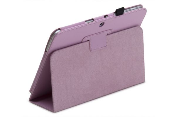 Samsung Galaxy Tab E 9.6 inch PU Leer Book Cover Roze