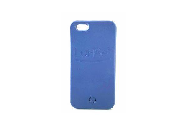 Iphone 7 plus selfie hoes blauw