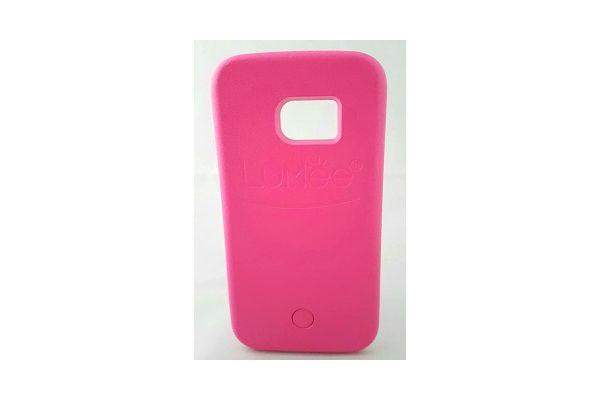 Samsung S6 edge selfie hoes roze