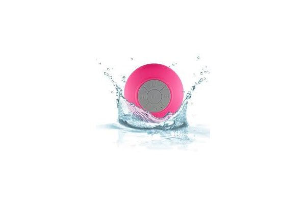 Bluetooth wireless speaker waterdicht roze