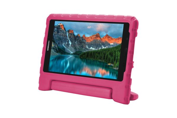 Samsung Galaxy Tab 4 8.0 inch T330 Kinderhoes roze