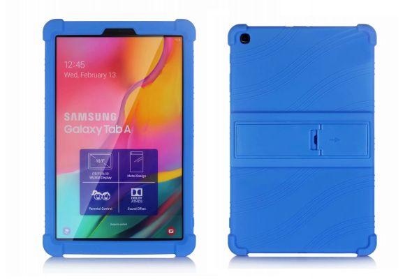 Samsung Tab A 10.1 2019 kinderhoes backcover schokbestendig Blauw