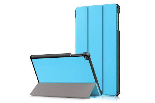 Samsung Tab A 10.1 2019 hard Tri-Fold book cover Blauw