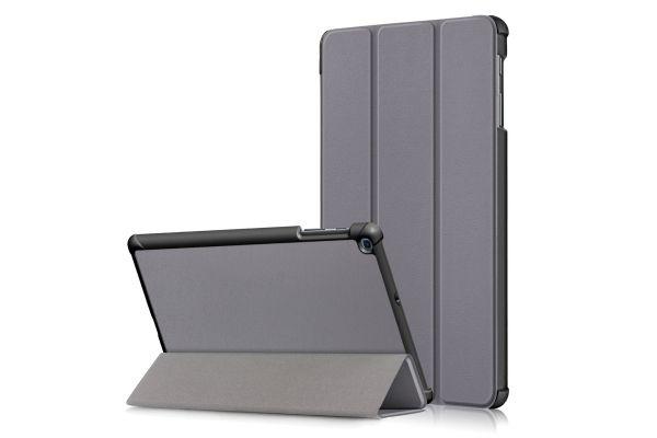 Samsung Tab A 10.1 2019 heavy hard back book cover grijs