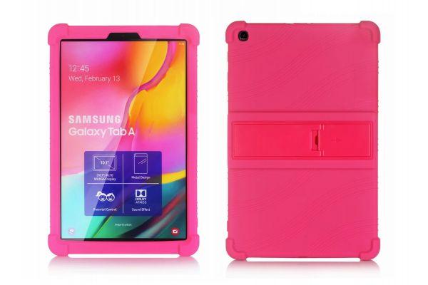 Samsung Tab A 10.1 2019 kinderhoes backcover schokbestendig Roze