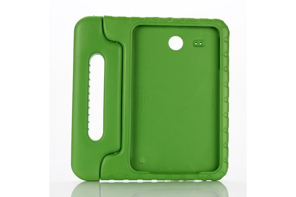 Samsung Tab e 9.6  kinderhoes groen T560 T561