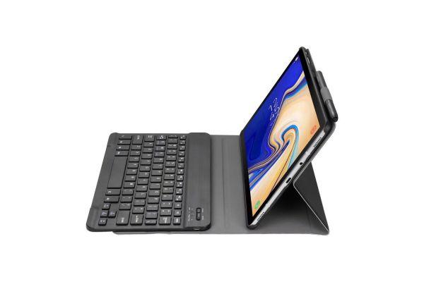 Samsung Galaxy Tab S4 10.5 hoes met toetsenbord ultra slim Zwart