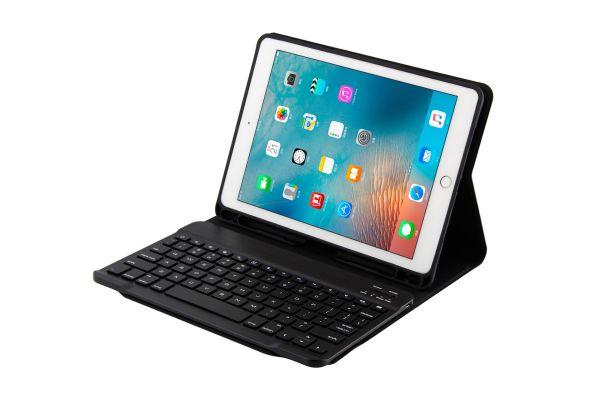iPad Air hoes met toetsenbord ultra slim ultra protection blauw