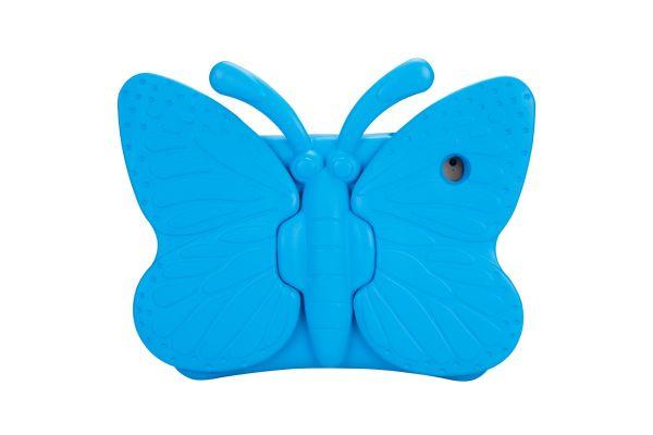 iPad 2018 9.7 inch Kinderhoes vlinder Blauw