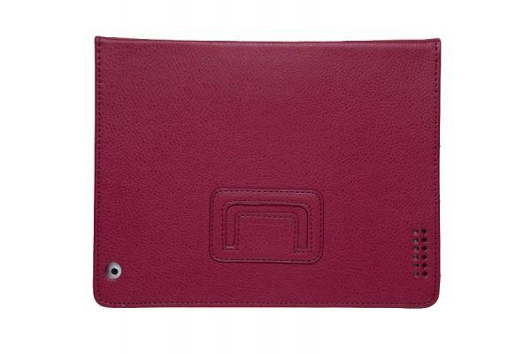 iPad Mini 1-2-3 PU Leer Book Cover Wijnrood